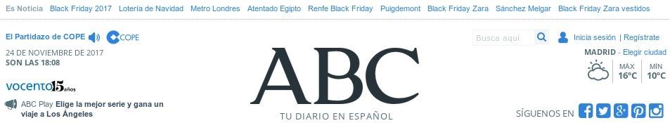 El ABC también me quiere decir  algo