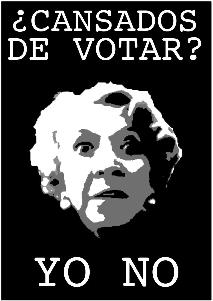 Cansados de  votar