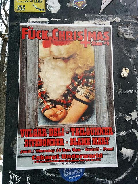 Le Fuck Christmas Show  2014