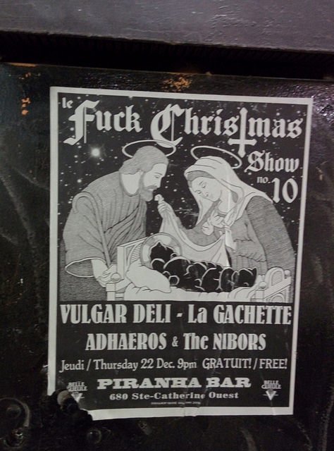 Le Fuck Christmas Show  2016